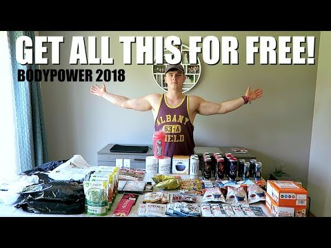 HOW TO Get FREE STUFF at BodyPower!!