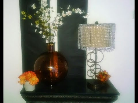 DIY |Chandelier Lamp Shades |Sparkling Lamp Shades