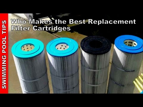 Who Makes the Best Replacement Pool Filter Cartridges?  Part One of Two