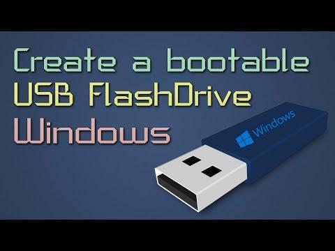 Install Windows XP/Vista/7/8/8.1/10 From Usb Flash Drive | Create a bootable USB Flash Drive
