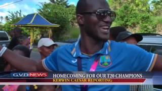 How Darren Sammy  celebration In home after winning t20 world cup 2016