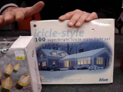 How to Safely use Christmas lights, no overloads