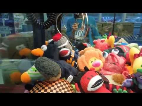 Toys for Tots - Journey to the Claw Machine​​​