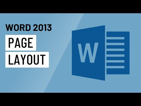 Word 2013: Page Layout
