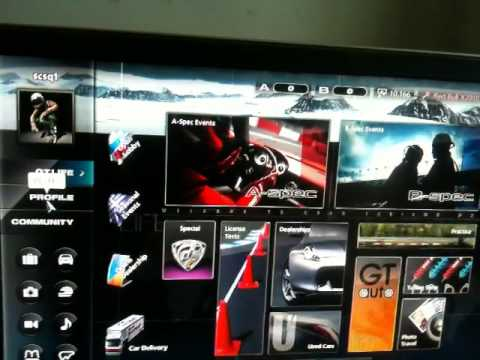 how to level up a new account quickly in Gran Turismo 5 free gift cars