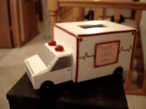 Valentine's Day ambulance box