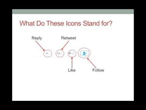 Twitter Icons and Symbols Tutorial