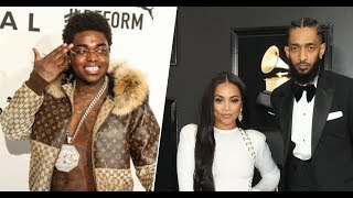 Kodak Black apologizes for Nipsey Hussle/Lauren London comment after TI, GAME + Others Check him