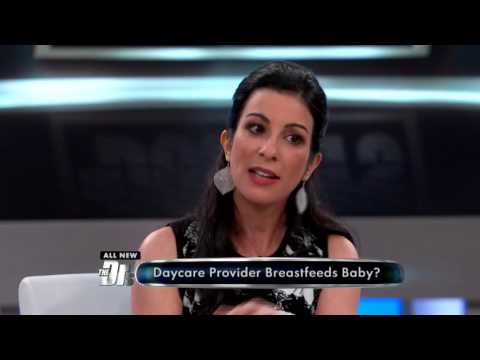 Daycare Provider Breastfeeds Baby