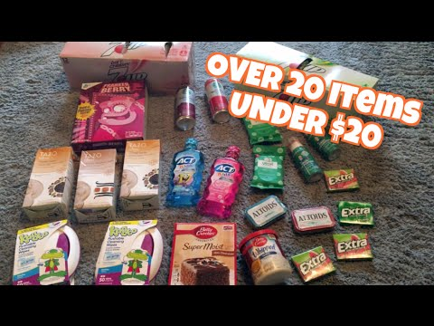 OVER 20 Items for UNDER $20 at TARGET | Deal Shopping with Collin & Amanda