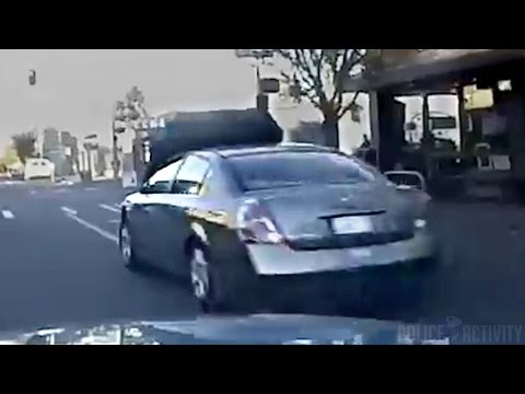 Crazy Police Chase Of Carjacking Suspect Ends In Crash