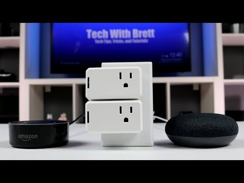 CrazyLynx Mini Smart Plug for Alexa & Google Home