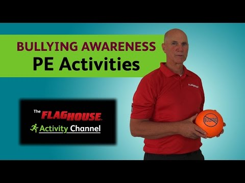 4 Bullying Awareness Activities for Your PE Class (Ep. 12 Bullying Awareness 7inch Ball)