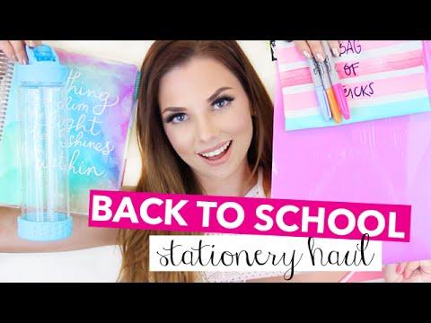 Back To School Supplies & Organization Haul 2016