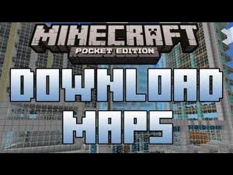 how to download a mcpe map (easy and no root needed)