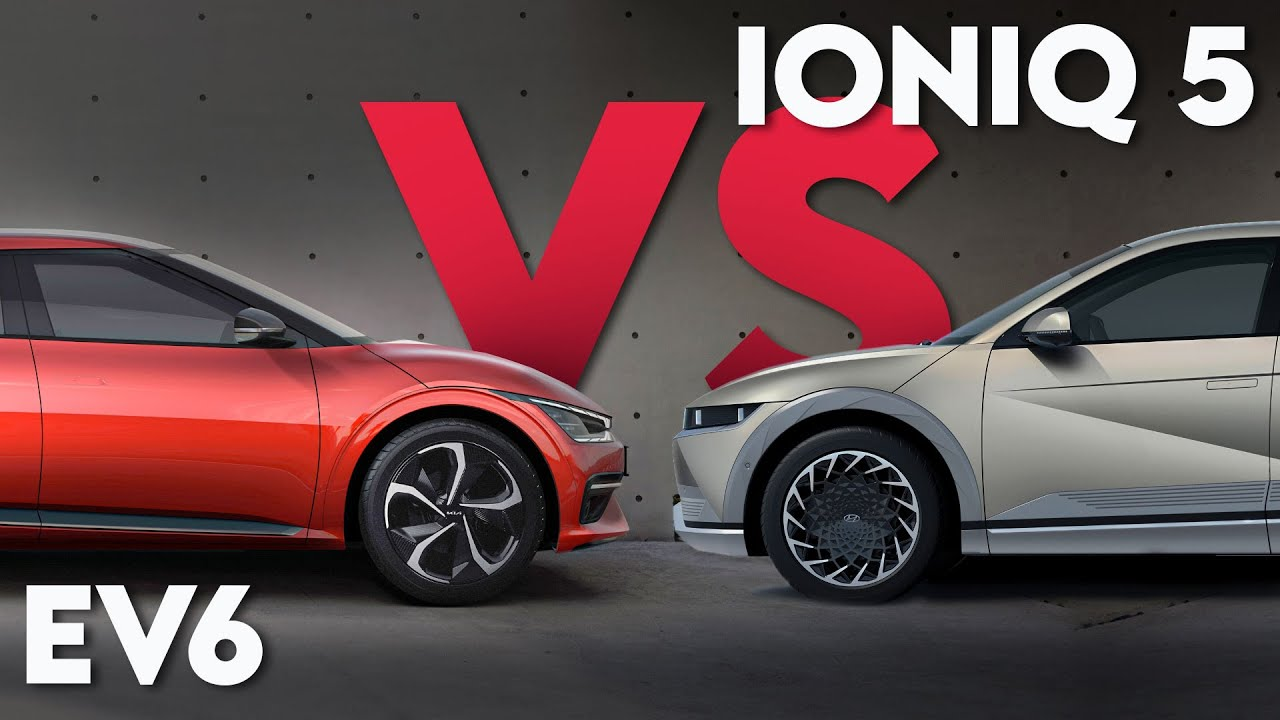 Ioniq5 Vs Kia EV6, which is better?   ALL you NEED to KNOW