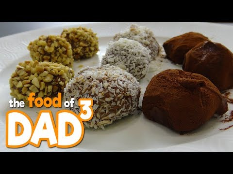 The Food of Dad³ - Super Easy Chocolate Truffles