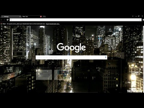 How To Change Background On Google Chrome (EASY)