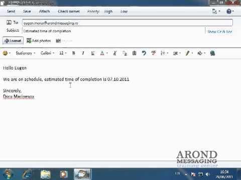 Using Windows 7 - Sending an Email Message