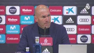 Zinedine Zidane goodbye press conference.