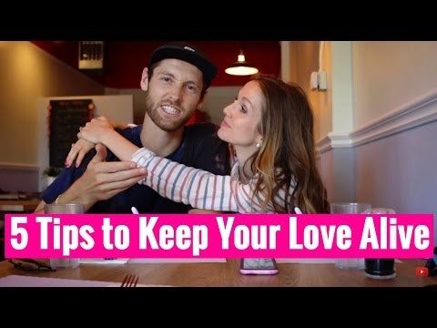 How to keep a LONG & STRONG Relationship! 5 Tips for Long Term Relationships