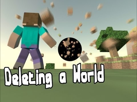 How to delete worlds in minecraft Xbox one !!!!!