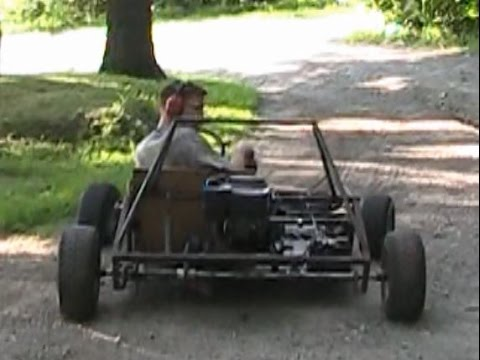Vertical Engine GoKart: 2 Seater Phil Alpha 12 Go Kart