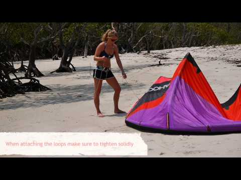 The Kite Bar and the Lines - Learn Kitesurfing Online Video Tutorial