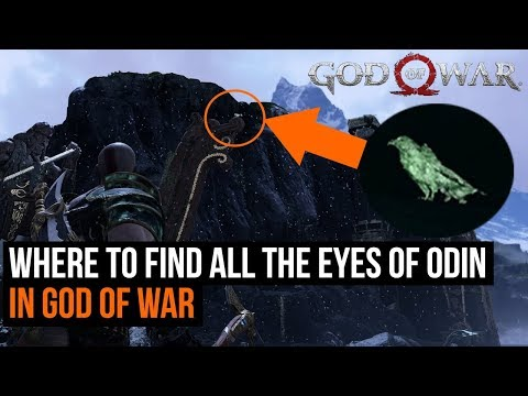 God of War - How to find all 51 Eyes of Odin - Allfather Blinded trophy guide