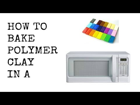 How To Bake Polymer Clay In a MIcrowave