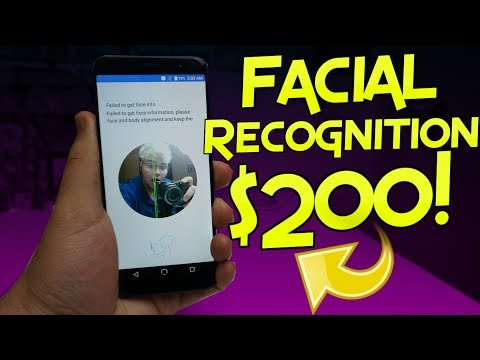 NUU G3 | Facial Recognition On $200 Phone!