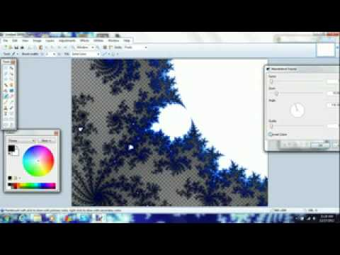 How to Render Out Cool Designs on Paint.net