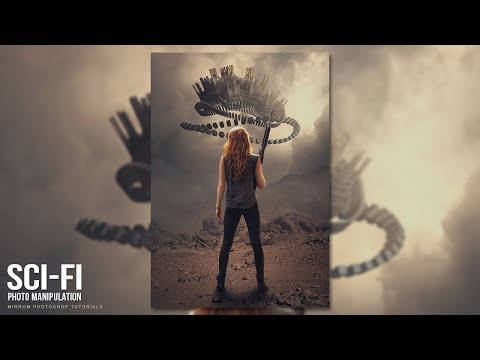 Create a SciFi Photo Manipulation Effects in Photoshop