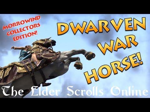 Dwarven War Horse Mount