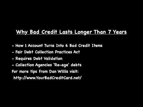 Bad Credit - Longer Than 7 Years