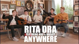 Rita Ora/Dua Lipa - Anywhere/New Rules (Cover by New Hope Club FT. Max & Harvey)