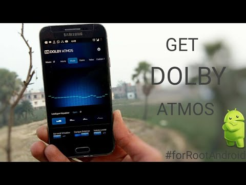 Install Dolby Atmos To Your Android, Dolby Atmos In 1 Min, For Rooted Android.