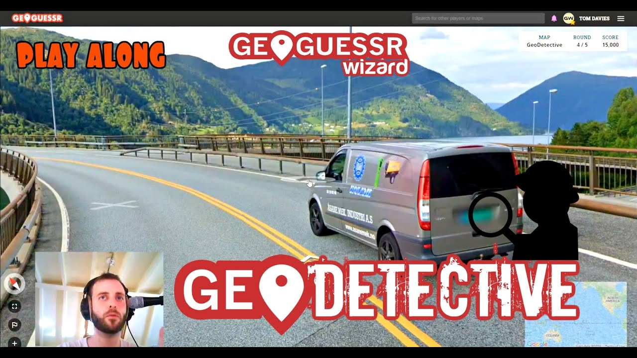 """Playing the """"Geodetective"""" Map - No moving, just calculation. [PLAY ALONG]"""