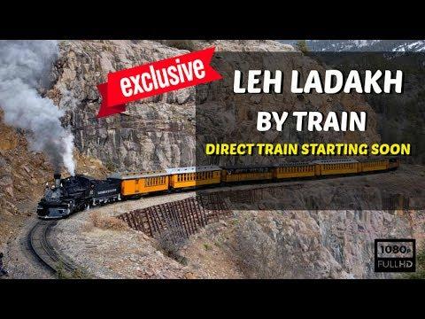 World's Highest Rail Track Survey To Commence At Leh | Ladakh By Train | Bilaspur Mandi Leh Railway