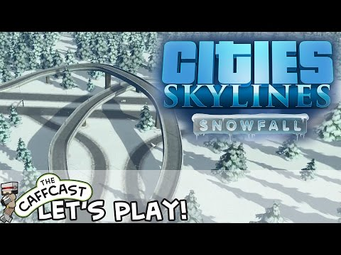 Cities: Skylines SNOWFALL (ALL DLC) From Boom To Busy! #5
