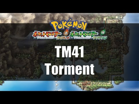 Pokemon Fire Red & Leaf Green | Where to find TM41 Torment