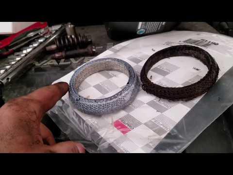 03-08 Toyota Corolla & Matrix Exhaust Flange Donut Gasket Replacement