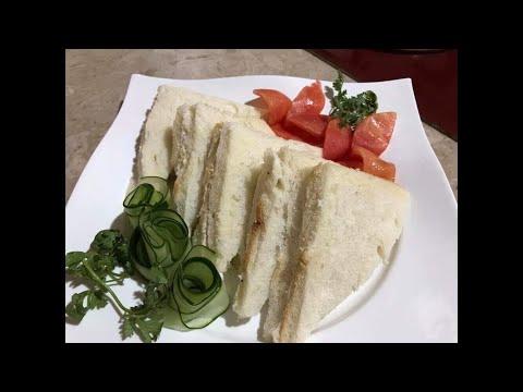Very Easy Chicken Mayo Sandwich *Home Recipe*