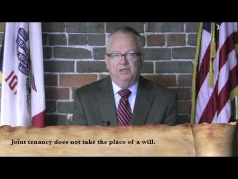 You and the Law - Joint Tenancy
