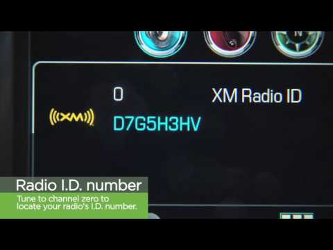 SiriusXM Basics: How to Listen with Your GM Next-Gen Info System