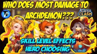 Castle Clash - Damage reduction Stacking !!! Can we Attain
