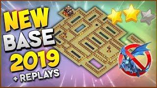 BASE PARA GUERRA EN TH10/New War Base TH10 Anti 3 + Replays 2019