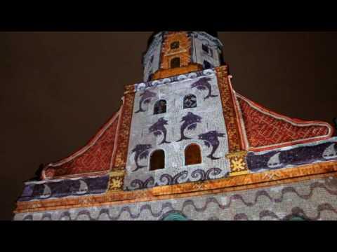 Staro Riga Festival of Lights 2016 compilation