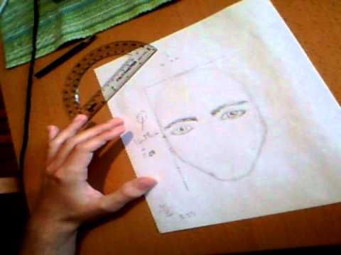 Drawing A Portrait By Using The Golden Ratio