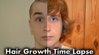 Picture a Day   Hair Growth Time Lapse (1 Year)